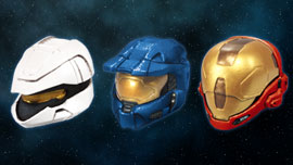Halo Helmets, halo 3 figures, halo3 action figures